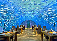 The Maldives is one of two countries in the world that boasts an underwater restaurant.