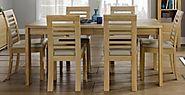 Oak Dining Tables at Choice Furniture Superstore