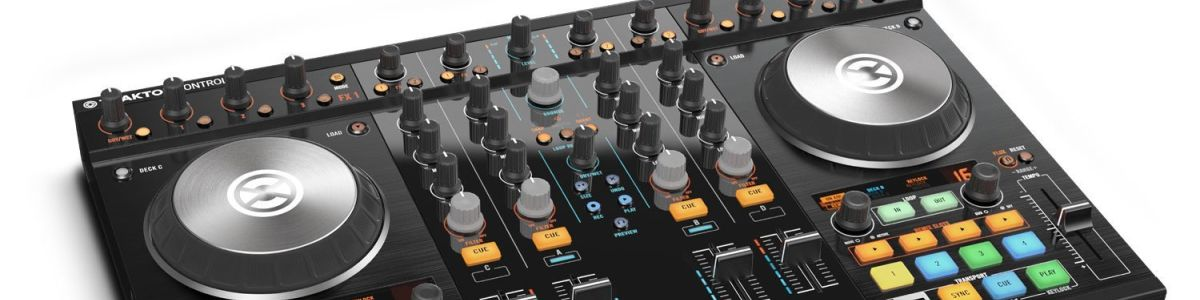 Headline for Best Rated DJ Mixing Controllers for 2017-2018