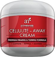 Art Naturals Cellulite Away Treatment Cream Contains Proven Anti Cellulite Retinol, Caffeine & Seaweed - Best Body Fi...