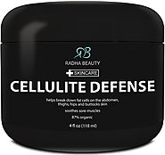 Cellulite Cream 4 oz - Best Anti-Cellulite gel-cream, slimming and body firming gel with Thermogenic Action - also gr...
