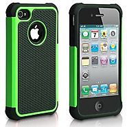 APPLE iPod Touch 6 case, High Quality Scratch-Resistant Dual Layer Hybrid Protective Case and Shockproof Bumper by Bo...