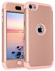 iPod Touch 6 Case,iPod Touch 5 Case,SLMY(TM)Heavy Duty High Impact Armor Case Cover Protective Case for Apple iPod to...