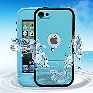 iPod 6 Case iPod 5 Case iPod 5 6 Defender Waterproof Case For Boys Girls Built-in Touch Screen for Dustproof Sweatpro...