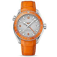 Replique Montre Omega Seamaster Planet Ocean 600 M Co-axial GMT 43.5 mm 232.93.44.22.99.001