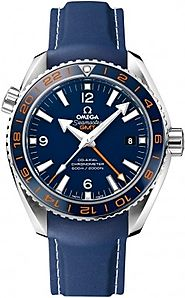 Replique Montre Omega Seamaster Planet Ocean 600 M Omega Co-axial GMT 43.5 mm 232.32.44.22.03.001