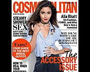 Alia featured on the cover of September issue of Cosmopolitan and she looks too hot to handle. On....