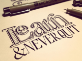 Hand Lettering - Sean McCabe