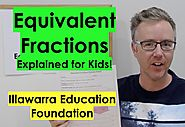 Equivalent Fractions For Kids! (Years 4 - 6) #2