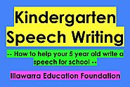 Kindergarten Speeches (How to Write a Kindy Speech) #9