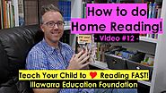 How to Use a School Home Reader | Home Reading Success! (Kindergarten +) #12