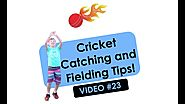 Cricket Catching and Fielding Tips for Kids | VIDEO #23 | ALL AGES! | Illawarra Education Foundation