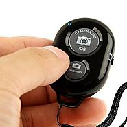 KobraTech Bluetooth Remote Shutter Release - The QuikPic Remote - iPhone Bluetooth Remote Camera Control for Any iOS ...