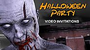 Amazing Halloween Party Invitations - Talking Zombie Video Template