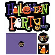 Halloween Invitation Pack 20ct