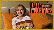 THE CUTEST HANDMADE HALLOWEEN INVITATIONS