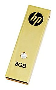HP 8 GB HP335 USB 2.0 Flash Drive P-FD8GBHP335-BX (Gold)