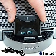 CoolStream Duo. Bluetooth Adapter / Bluetooth Receiver; accessories for iPhone, Samsung, Nokia, HTC, LG, Motorola; fo...
