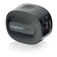 Brightech - BrightPlay Home HD Bluetooth 4.0 Music Receiver / Adapter with apt-X Technology for Digital Sound - Black