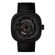 Replique Montre SevenFriday P3-1 en acier inoxydable/PVD