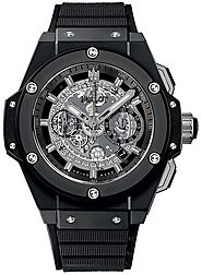 Replique Montre Hublot King Power Unico Black Magic 48mm 701.CI.0170.RX