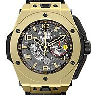 Hublot Big Bang Ferrari magique d'or 401.MX.0123.GR