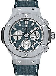 Hublot Big Bang Evolution Bleu Jeans Chronographe Automatique Hommes 301.SX.2710.NR.JEANS