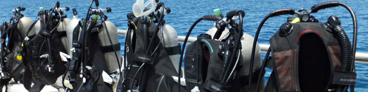 Headline for Scuba Diving Equipment List -A prologue to diving in Krabi
