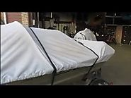 BOAT COVER BOWS / POLES- homemade.