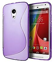 Motorola Moto G (2nd Generation) Case, Cimo [Wave] Premium Slim TPU Flexible Soft Case For Motorola Moto G (2nd Gener...