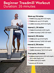 HIIT treadmill workout for beginners