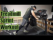 Treadmill Sprint Workout for FAT LOSS | HIIT