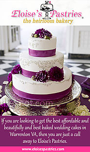 Make Your Wedding Special With Organic Cakes