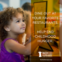 PinkLouLou: twEAT OUT for No Kid Hungry