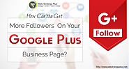 How Can You Get More Followers On Your Google Plus Business Page?