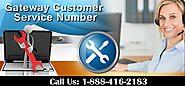 Resolve issues by Gateway Computer Customer Support Number