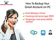 How to Backup Your Gmail Account on PC?
