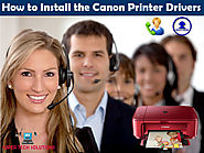 How to install the Canon Printer Drivers?