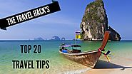 My top 20 travel tips ever - The Travel Hack
