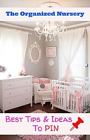 Nursery Organization Ideas and Tips