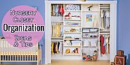 Brilliant and Easy Nursery Closet Organization and Design Ideas