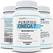 Omega-7 Palmitoleic Acid Fish Oil 30 Softgel Capsules by Icelandic Fourmula