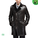 Mens Sheepskin Trench Coat CW868905