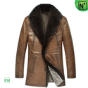 Mens Shearling Leather Coats CW878505