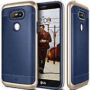 LG G5 Case, Caseology® [Wavelength Series] Textured Grip Cover [Navy Blue] [Shock Proof] for LG G5 (2016) - Navy Blue