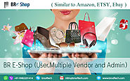 BR Shop is a similar app like Amazon, ETSY AND eBAY