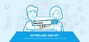 BR Freelance jobs app is similar to Elance.