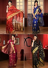 Banarsi Art Silk Saree By Shree Sanskruti ( Pick any 1 / Pack of 2 ) | 60 Ghantey Maha Loot
