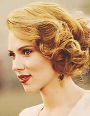 Vintage Updo Hairstyle for Women