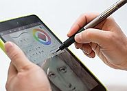 DotPen - World's Best Active Stylus Pen for iPad, iPhone, & Most Android Tablets and Smartphones. Machined aluminum h...